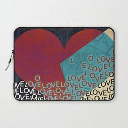 New love heart design valentines 2017 Laptop Sleeve