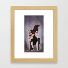 Greek Gods and Goddesses - Hades & Persephone Framed Art Print