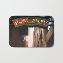 Post Alley in Seattle Washington Bath Mat