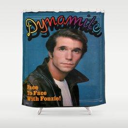 Fonzie! Shower Curtain