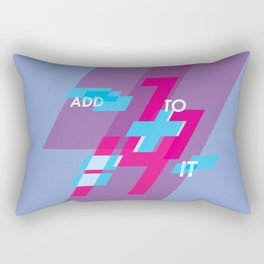 Graphic Poster #14 - Add To it Rectangular Pillow