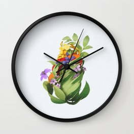 Fruit Cone Wall Clock