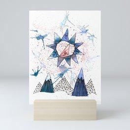 Sun Scape Mini Art Print