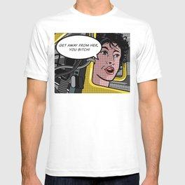 Ellen Ripley in Aliens as Roy Lichtenstein's Pop Art T-shirt