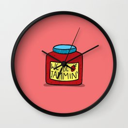 We Be Jammin Wall Clock