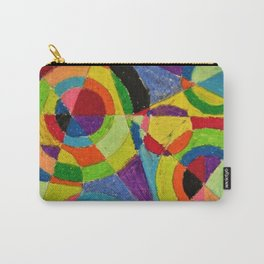Color Explosion by Robert Delaunay Carry-All Pouch