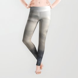 Silver Scene ~ Ocean Ripple Effect Leggings