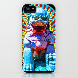 Spirit of The Lion Dog iPhone Case