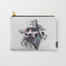 Glitch Man Carry-All Pouch