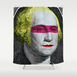 intervention Shower Curtain