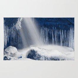 Stream of Blue Frozen Hope Rug