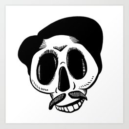 The Most Best Skull Art Print