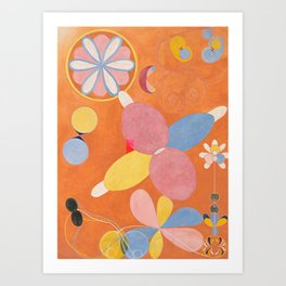 Hilma af Klint ,The Ten Largest, No. 4, Youth Art Print