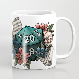 Bard Class D20 - Tabletop Gaming Dice Coffee Mug