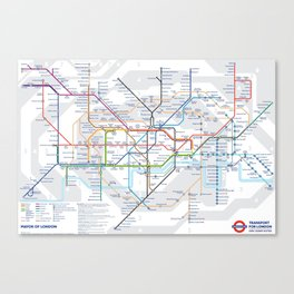 The London Underground Canvas Print