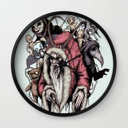 Krampus 2 Wall Clock