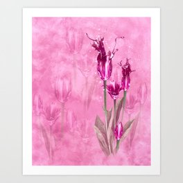 Fairy Tulip Art Print