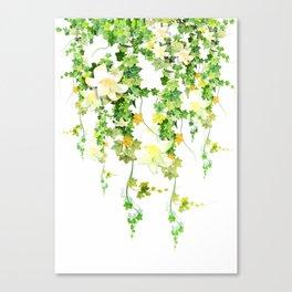 Watercolor Ivy Canvas Print