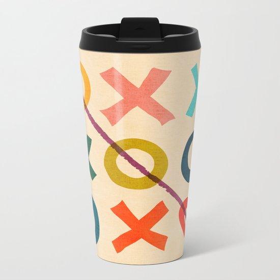 xoxo Love Metal Travel Mug