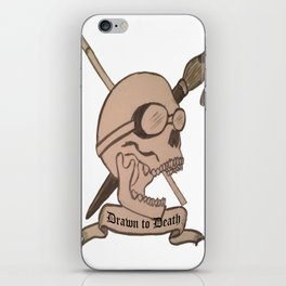 Art Student Crest iPhone Skin