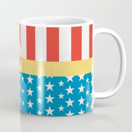 Superhero Wonder Pattern I Coffee Mug