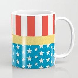 Superhero Wonder Pattern I Coffee Mug