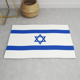 Flag of the State of Israel - High Quality Image Rug