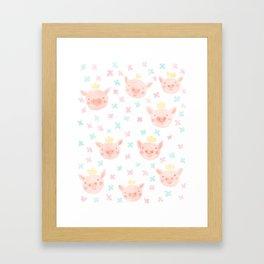Piggy Prince Framed Art Print