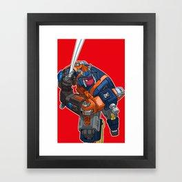 FUTRON TWO Framed Art Print