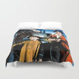 Alien in Mary Poppins Duvet Cover