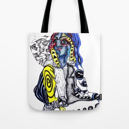 clusters and pretty girls Tote Bag