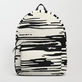 Rough Brush on Ivory Backpack