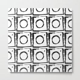 Box Pattern Metal Print