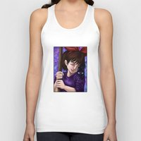 kiki Tank Tops featuring Kiki and Jiji by Kimberly Castello