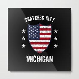 Traverse City Michigan Metal Print