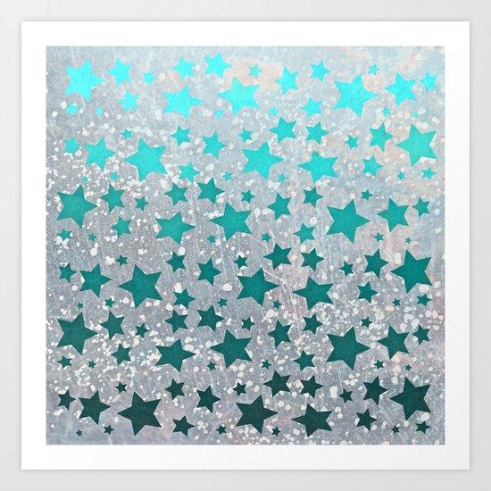 All Stars... Art Print