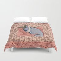 blanket Duvet Covers featuring Blanket by Geckojoy