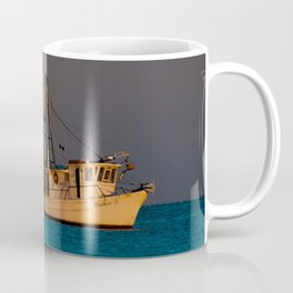 Tucker J fishing boat Coffee Mug