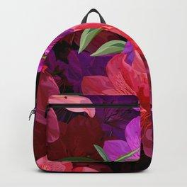 Beautiful hibiscus flowers Backpack