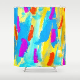 FLY - Colorful Painting Shower Curtain