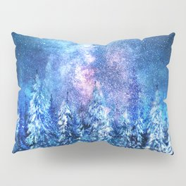 Forest under the Starlight Pillow Sham