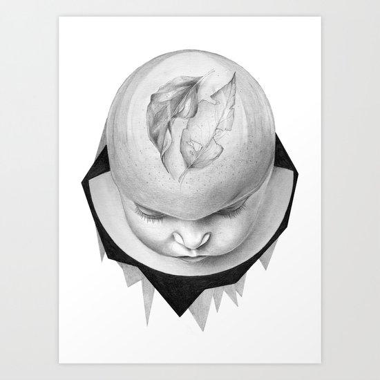 ME DA VERGÜENZA SER FELIZ #3 Art Print