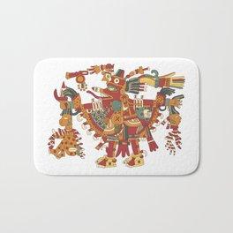 Aztec Inca God Graphic Bath Mat