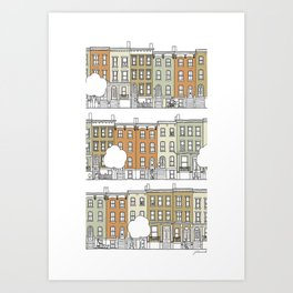Brooklyn (color) Art Print