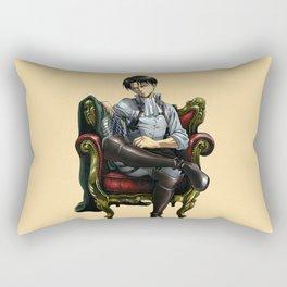 Levi sit down Rectangular Pillow