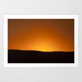 Daybreak on the Land Art Print