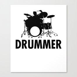 Drummer Gift Canvas Print