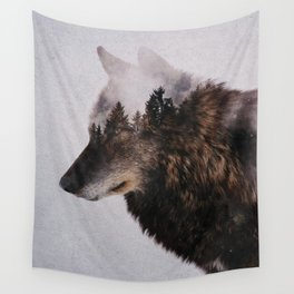 Canis Lupus Wall Tapestry