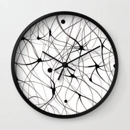 Abstraction lines Wall Clock