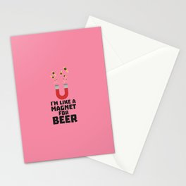 Like a Beer Magnet T-Shirt for all Ages Duq5z Stationery Cards